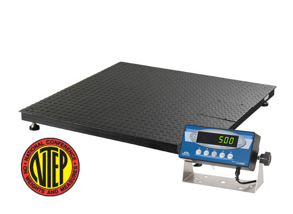 grd5544 10k floor scales from transcell technology 10 000 lb